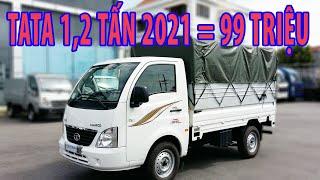 Xe tải TATA máy DẦU | Giá Xe tải TATA 1.2 tấn | Xe tải Tata Ấn Độ