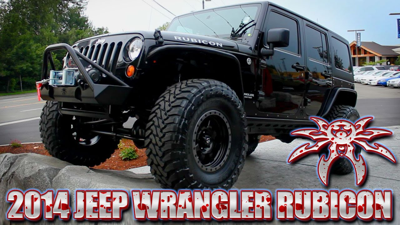 2014 Poison Spyder Jeep Wrangler Unlimited Rubicon 4x4 ...