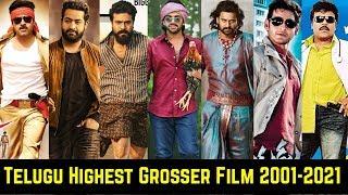 Every Year Telugu Highest Grossing Movies List From 2001 To 2021 | Mahesh Babu,Allu Arjun,Ram Charan