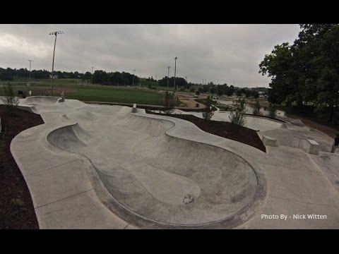 """Ann Arbor Skatepark - Michigan """"sk8parkatlas"""""""