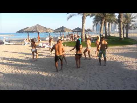 on beach entertainment in Doha
