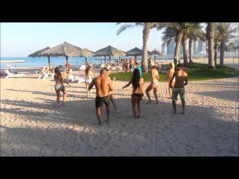 on beach entertainment in Doha
