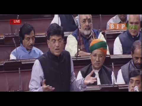 Shri Piyush Goyal's speech during discussion on demonetisation of currency in RS : 16.11.2016