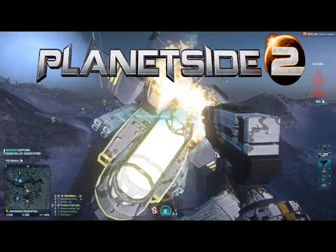 PlanetSide 2 HD - NC Ace Reaver Pilot: No Limitations