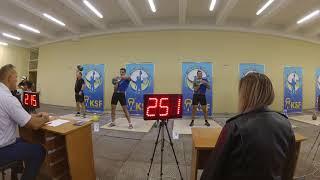 Кубок України асоціації гирьового спорту. Гирьовий марафон 24 кг -638 підйомів (30хв)
