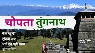 Chopta to Tungnath Trek, Parking, Stay | Deoriatal | Ukhimath