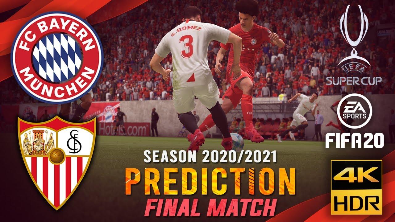 FC Bayern Munich vs Sevilla FC | FIFA 20 Predicts: UEFA Super Cup 2019/20 ● Final Match | #FCBSEV