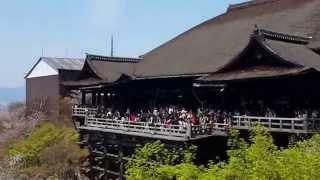 วัดน้ำใส-วัดคินคาคุจิ เกียวโต (Kiyomizu dera Temple-Kinkakuji Temple Kyoto Japan)