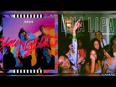 """New Blood"" - Mashup of Dua Lipa/5 Seconds of Summer"