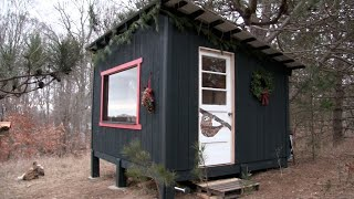 Simple off grid cabin (Part 2).........that anyone can build & afford