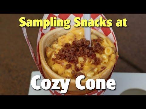 Sampling Snacks at Cozy Cone in Cars Land | Disney California Adventure