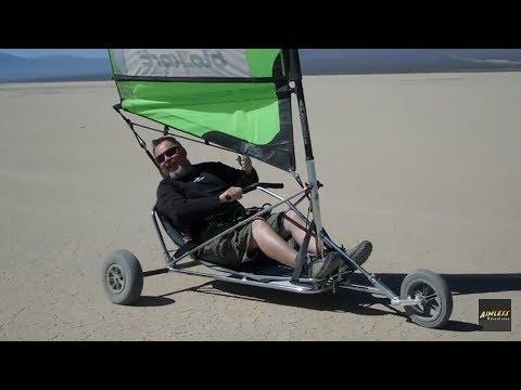 Land Sailing - Ivanpah Dry Lake Bed California