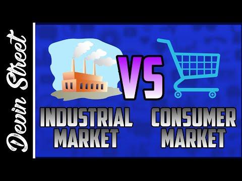 Consumer Market Vs Industrial Market
