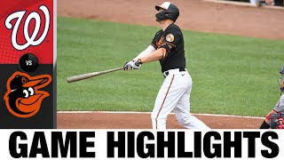 Nationals vs. Orioles Game Highlights (7/24/21)