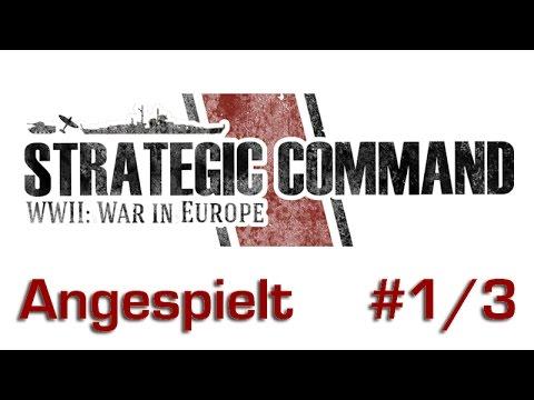 Angespielt: Strategic Command WW2: War in Europa #1/3 (Mini-Tutorial, gameplay)