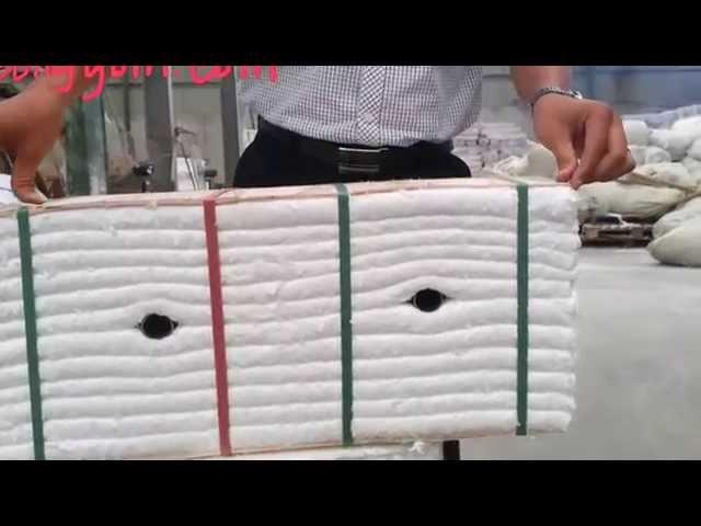 Bông gốm dạng khối dùng thay thế gạch xốp chịu lửa chịu nhiệt