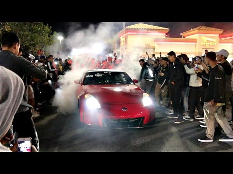 THE COPS CANT STOP US Burnouts Drifting Infront Of Police
