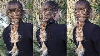 Braided Heart Hairstyle | Valentine's Day Hairstyles | Braidsandstyles12