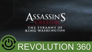 Assassin's Creed 3 Tyranny Of King Washington DLC Introductory Gameplay Xbox 360