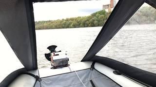 Тест драйв новой лебёдки для ПВХ лодки