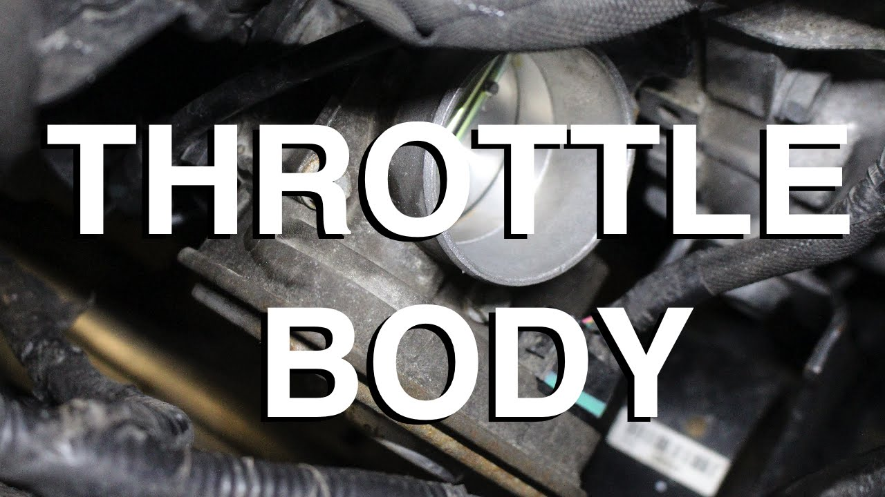 how to replace and clean a throttle body assembly jeep compass youtube [ 1280 x 720 Pixel ]