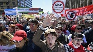 Митинг против реновации, против сноса домов в Москве. Прямая трансляция