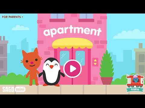 Sago Mini Apartment Fun Learning Adventures for Kids