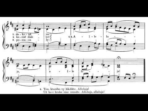 JKS 208 - Víťaz Kristus z mŕtvych vstáva (celá pieseň)
