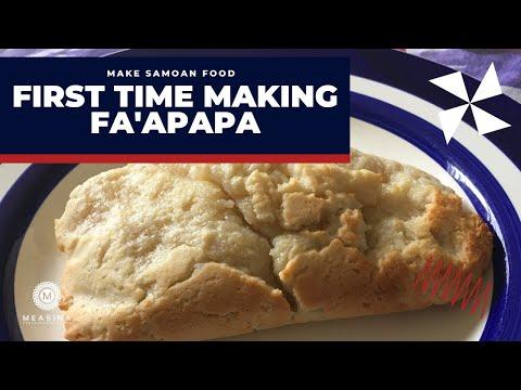 Make Samoan Food: First Time Making Fa'apapa