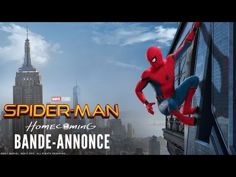 Spider-Man : Homecoming - Nouvelle bande-annonce - VOST