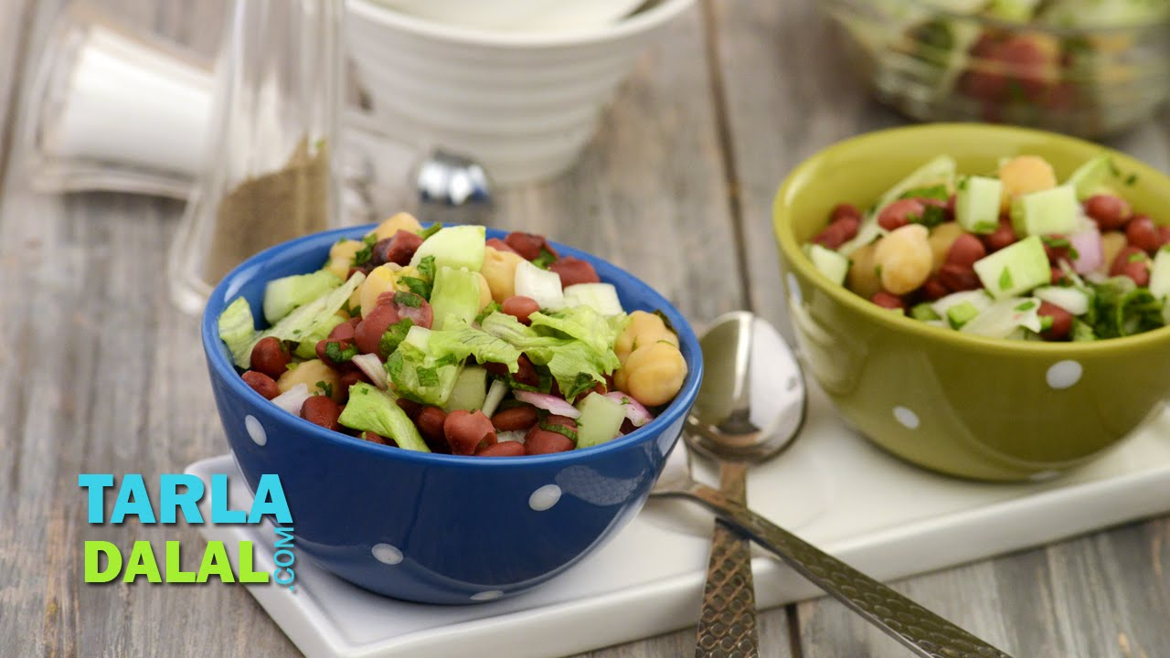 Lettuce and bean salad iron rich recipe by tarla dalal youtube lettuce and bean salad iron rich recipe by tarla dalal forumfinder Choice Image