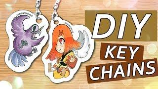 Schlüsselanhänger DIY-TUTORIAL | Drawinglikeasir