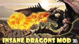 INSANE ULTIMATE DRAGON mod in GTA V!