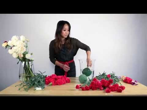 How to make a floral ball