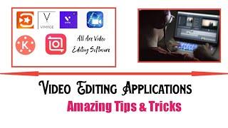 Best video editing software for android| Vimage, inshot, Vita, viva video made, kinemaster etc