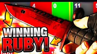 CSGO $200 ROULETTE M9 BAYONET RUBY!! CS:GO BOUNTY BEST GREEN HIT