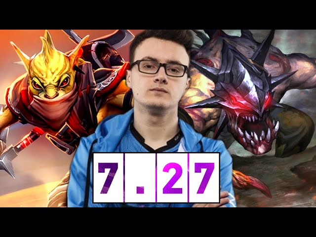 how MIRACLE Carry the Game in 7.27 New Patch