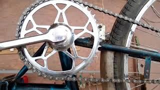 Мелкий ремонт дачного велосипеда