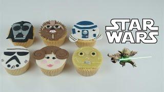 Star Wars cupcakes en pâte à sucre   Cake design