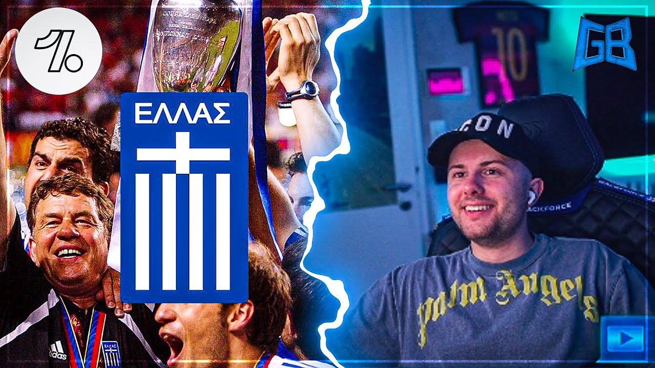 GamerBrother REAGIERT auf Onefootball GOATs: GRIECHENLAND EM 2004 😱 | GamerBrother Stream Highlights
