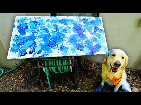 PUPPY PAW PAINTING! (Super Cooper Sunday #97)