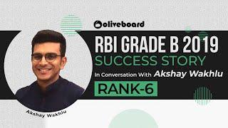 RBI Grade B 2019 Success Story | Akshay Wahklu | Know His Strategy