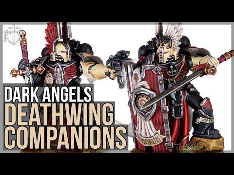 New Horus Heresy Dark Angels - Deathwing Companions!