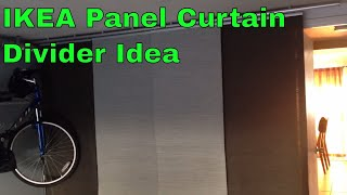 Ikea Panel Curtain Divider For Washer - Dryer