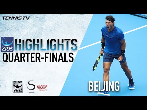 Highlights: Nadal, Zverev Advance In Friday QFs Beijing 2017