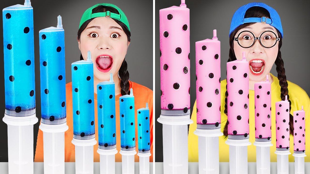Download TikTok Challenge ASMR Drink 틱톡 챌린지 먹방 DONA 도나