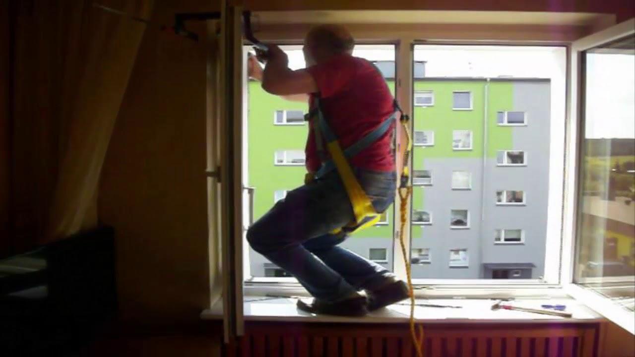 Wspaniały Jak zamontować samemu roletę zewnętrzną na trzecim piętrze bez DZ59