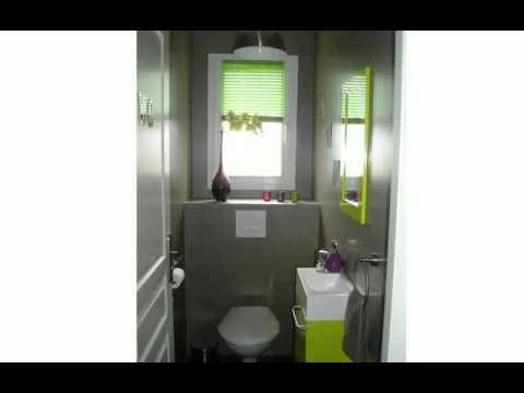 Décoration Toilettes Moderne - YouTube