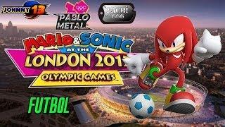 Mario y Sonic en los Juegos Olimpicos London 2012 GAMEPLAY - Futbol