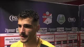BSR TV: Menno Koch na FC Emmen - NAC (2-0)